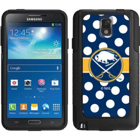 Buffalo Sabres Polka Dots Design on OtterBox Commuter Series Case for Samsung Galaxy Note 3