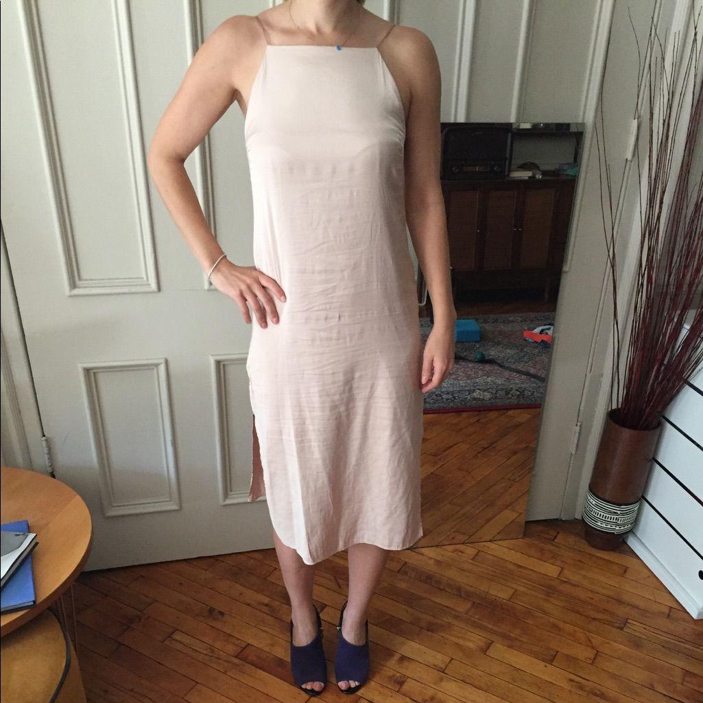 Zara Silk Slip Dress