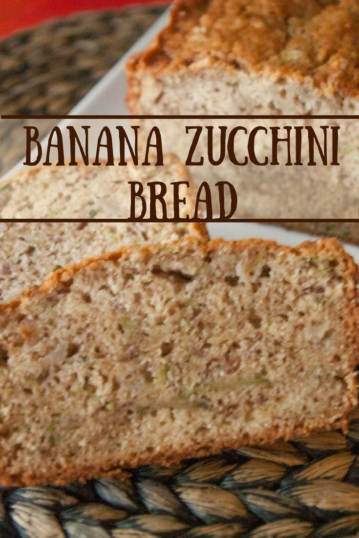 Banana Zucchini Bread Recipe Recipes Zucchini Bread Baby Food Recipes