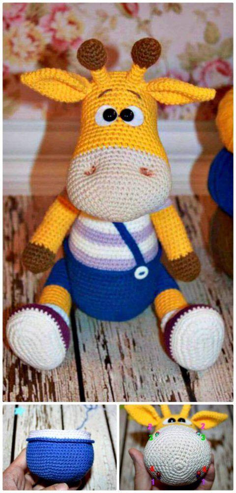 free crochet patterns for amigurumi giraffe 32 Free Crochet Giraffe Amigurumi Patterns DIY Crafts 2-#170978 #crochetgiraffepattern