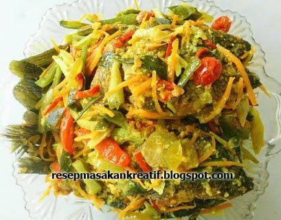 Resep Ikan Mas Acar Kuning | Resep Masakan Indonesia (Indonesian Food Recipes)