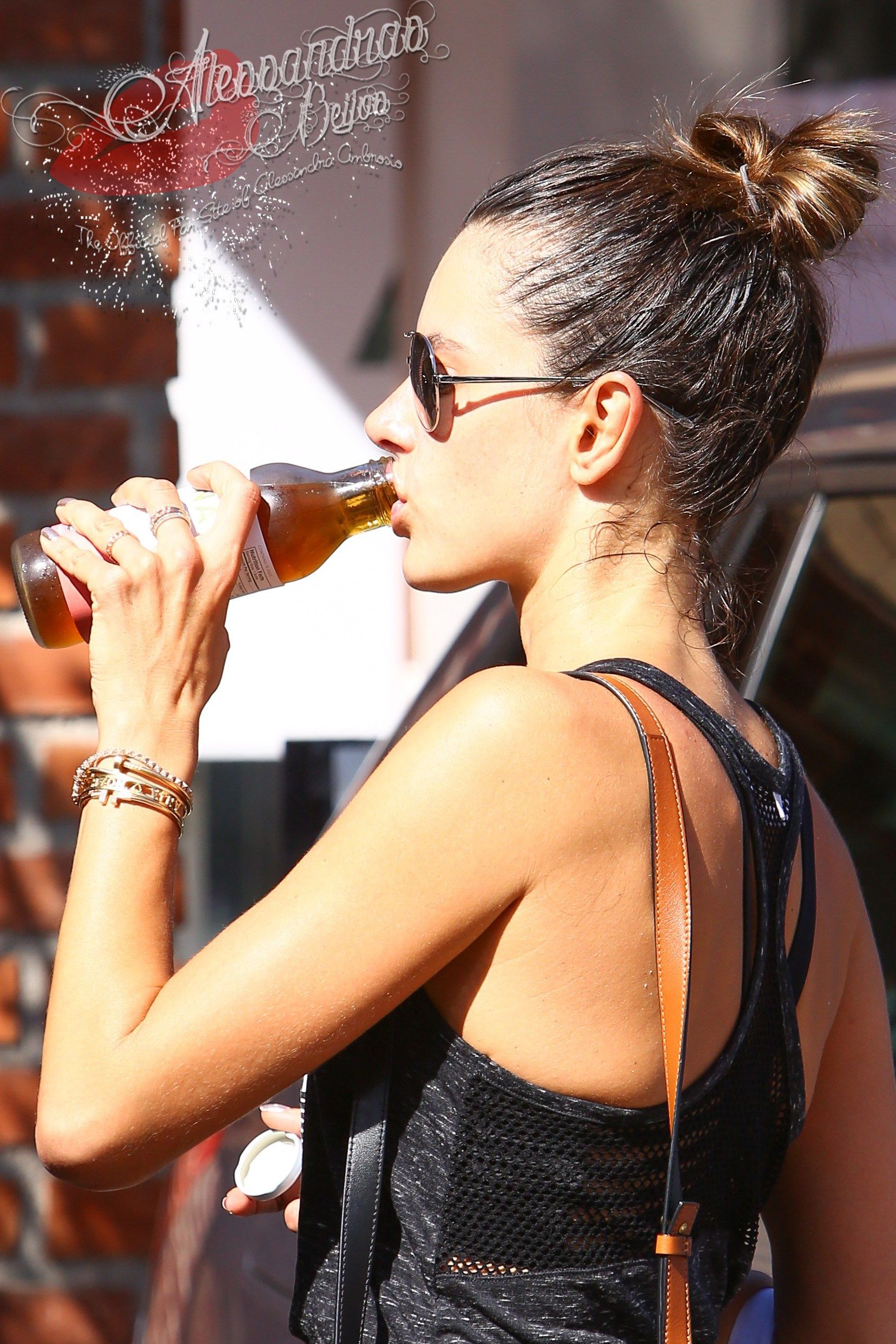 Alessandra Ambrosio keeps up with her weekly routine and hits the gym-Brentwood, CA – September 1, 2016