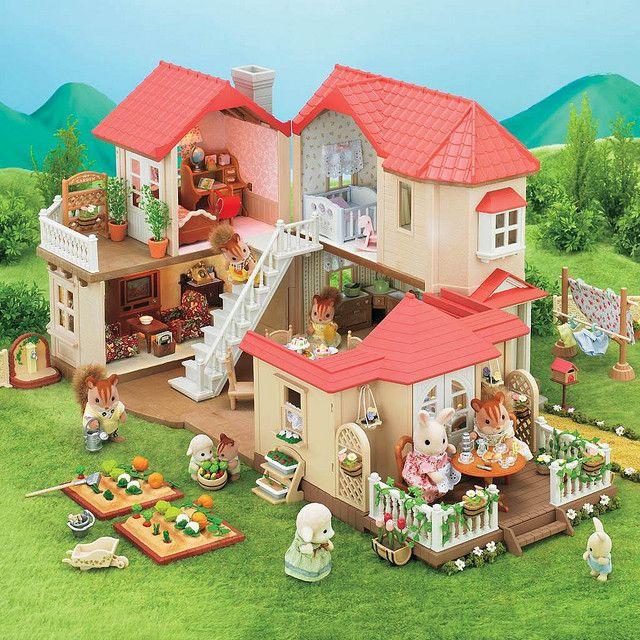 bdde29f895fe Sylvanian Families: City House w/ Lights! have :)   Sylvanian ...