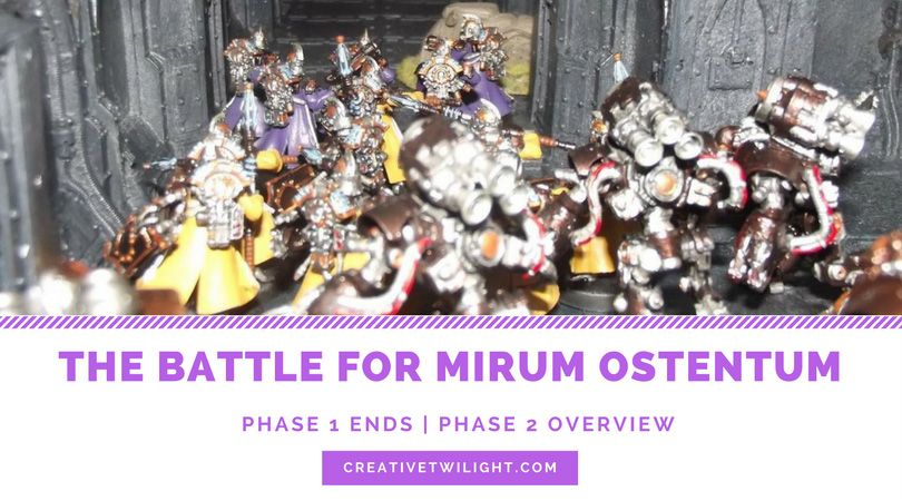 The Battle For Mirum Ostentum Part 7 - Phase 1 Wrap-up & Phase 2 Overview