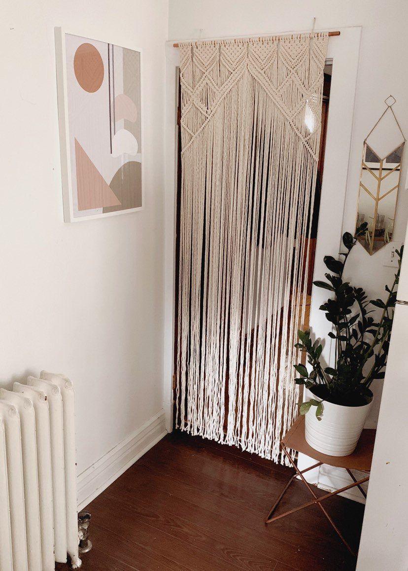 Newest No Cost Macrame Curtain Doorway Popular Doorway Curtain Decor Door Curtains Diy