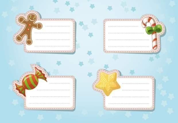 Des étiquettes de Noël à imprimer #etiquettesnoelaimprimer Des étiquettes à imprimerAdorables et super pratiques, ces petites étiquettes de Noël à accrocher sur les paquets cadeaux. Téléchargez-les et imprimez-les sur du papier cartonné ou autocollant, c'est encore mieux. C'est sûr, les enfants vont les adorer et seront encore plus contents d'ouvrir leurs cadeaux ! #etiquettesnoelaimprimer