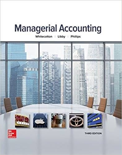 managerial accounting 3rd edition whitecotton test bank solution rh pinterest com fundamentals of cost accounting 3rd edition solutions manual free managerial accounting for managers 3rd edition solutions manual