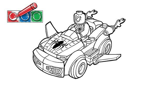 lego spiderman coloring pages Decor Connor Star Wars Party