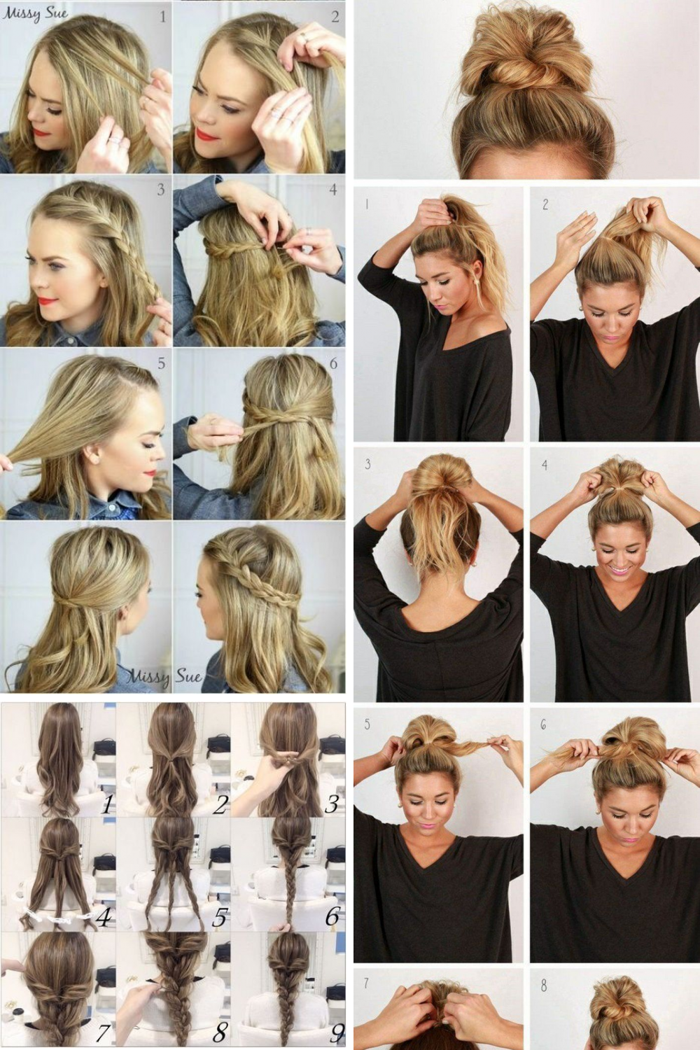 18 Stylish Everyday Hairstyle Pictures Ideas Nurse Hairstyles Everyday Hairstyles Hair Styles