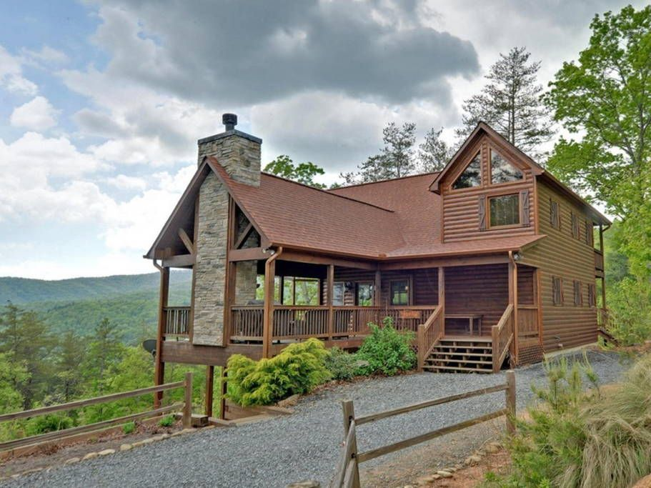 Above It All Cabins For Rent In Blue Ridge Cabin Cabin Rentals Luxury Cabin Rental