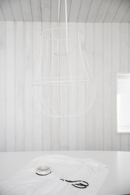 pärlplatte lampa ikea