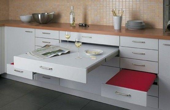 Idee per arredare una cucina piccola Idee arredo cucina piccola-24 ...