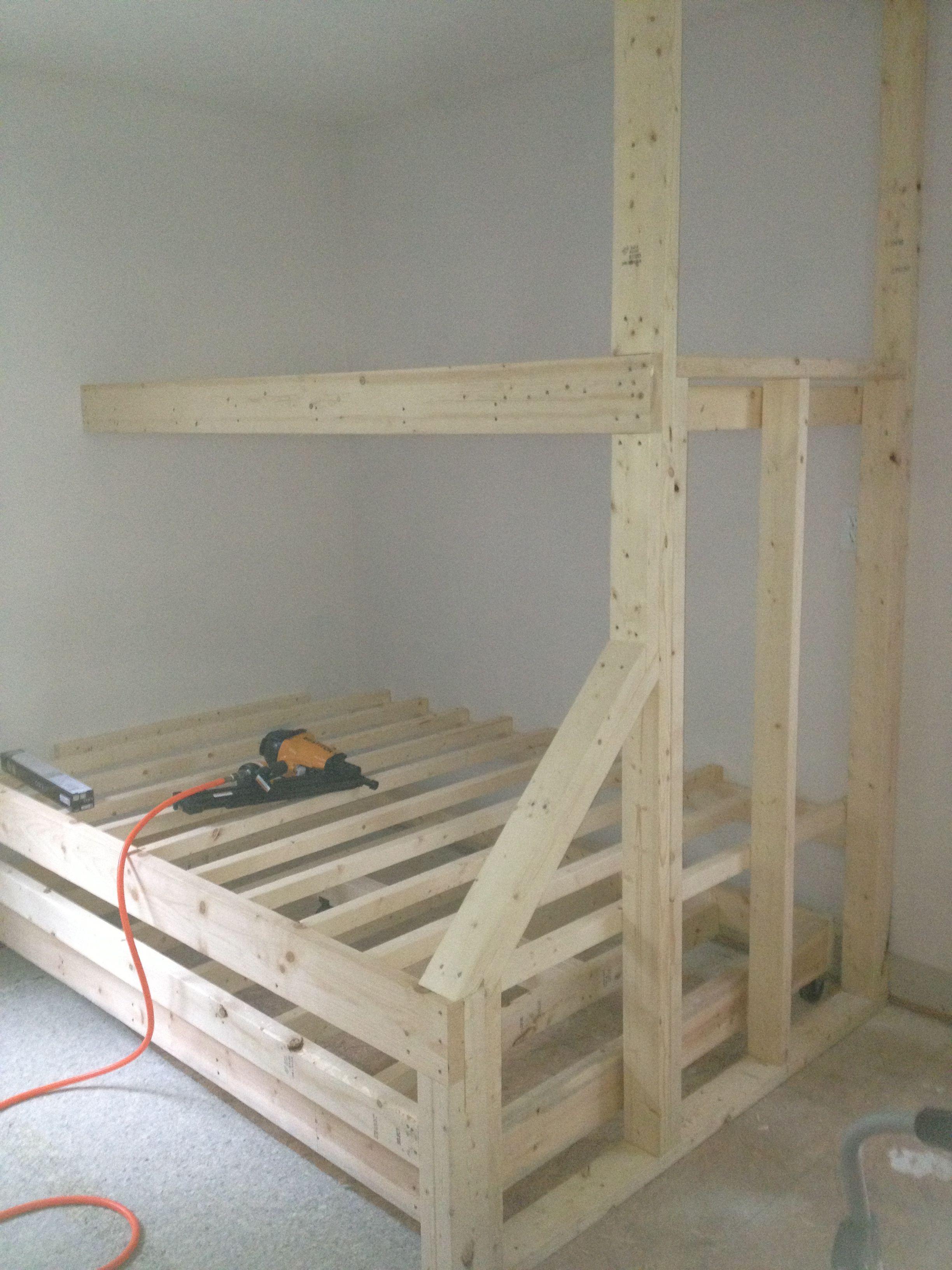 die besten 25 bed with trundle ideen auf pinterest stockbett mit ausziehbett doppelbett mit. Black Bedroom Furniture Sets. Home Design Ideas