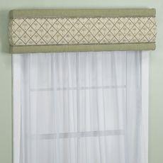 June Tailor 174 Palm Breeze 40 Window Cornice Bed Bath