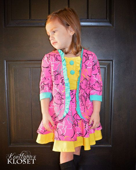 Beautiful, easy and modern child sewing PDF patterns Braxton\'s ...