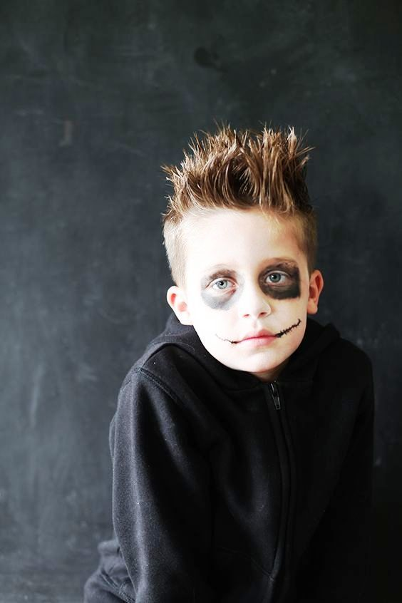 25 Amazing Boys Halloween Makeup Ideas to Try | Boy halloween ...