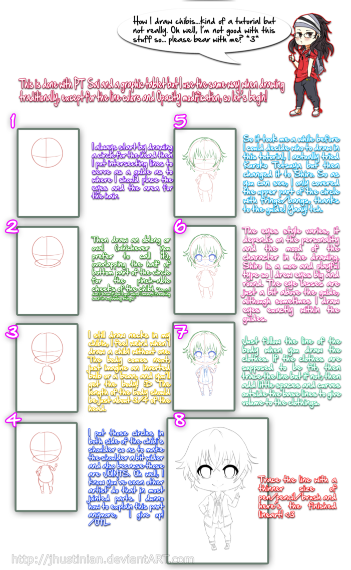 After So Many Months And Posting Of Polls I Finally Can Show You How I Do My Chibis Oh Well This Isn T Any Good So I Ll Unders Chibi Manga Tutorial Tutorial