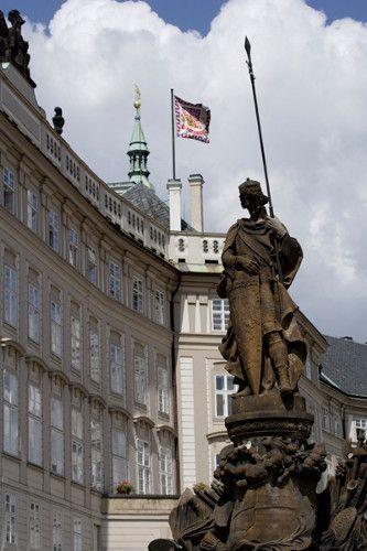 The Prague Castle An Ancient Symbol Of The Czech Lands Is The Most