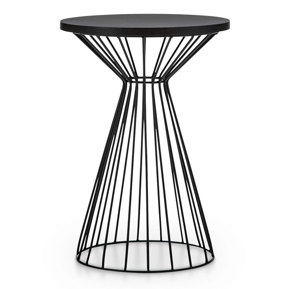 Fabiano Steel Round Side Table Side Table Steel Bedside Table Round Side Table [ 1000 x 1000 Pixel ]