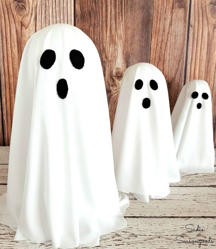 Budget Friendly Ghost Decor