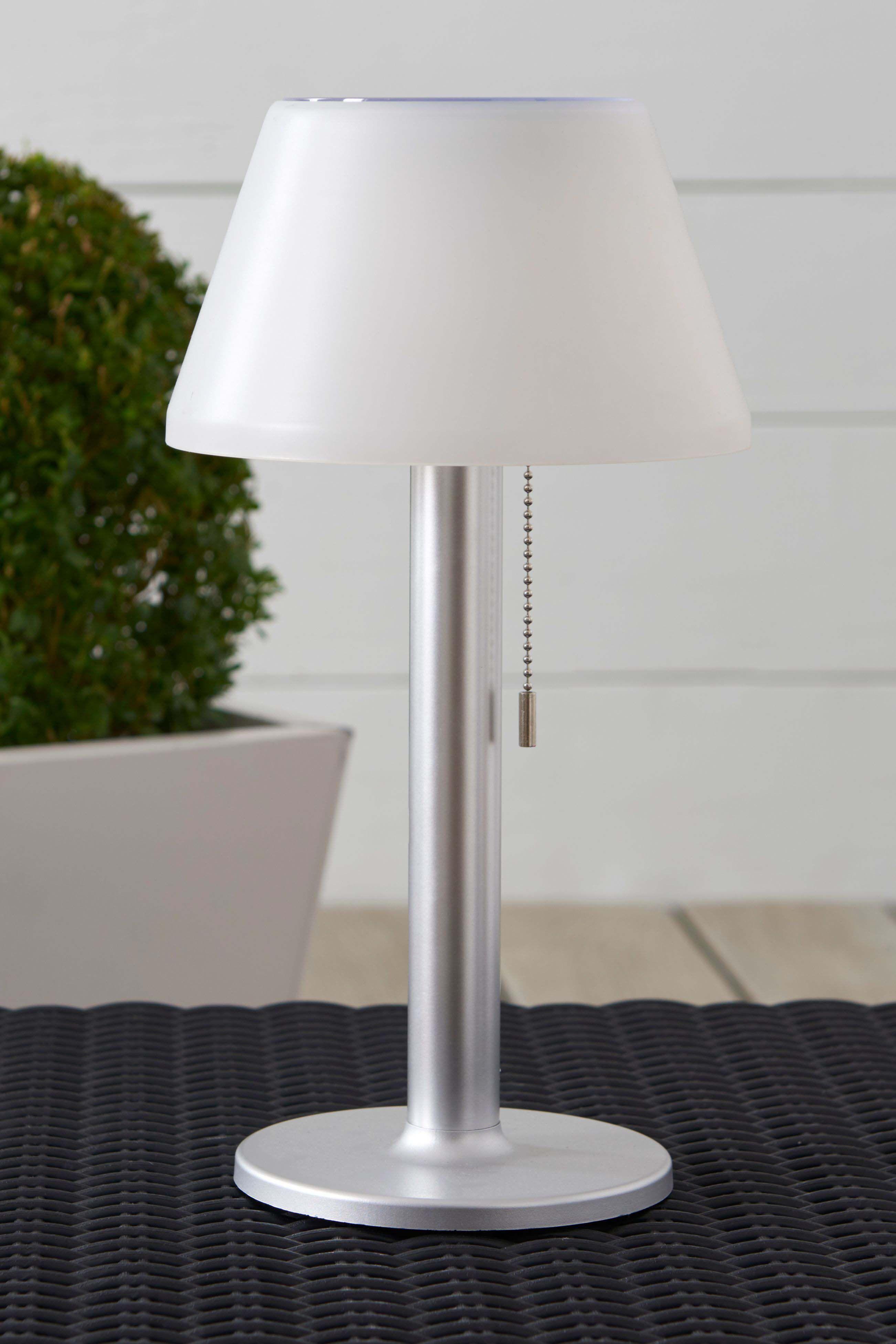 Next Solar Large White Table Lamp Silver White Table Lamp Table Lamp White Table