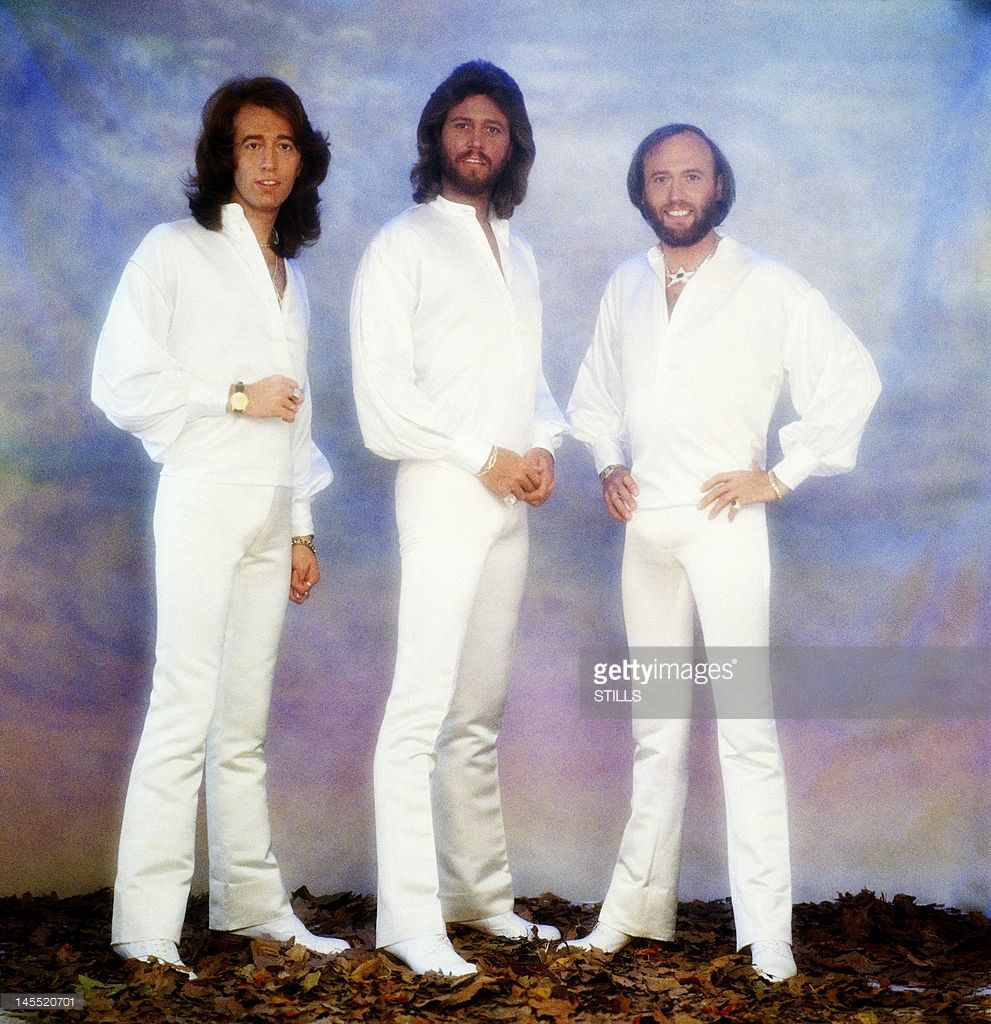 Australian Pop Group The Bee Gees Pose For A Portrait On January 23 Barry Gibb Pop Group Bee Gees