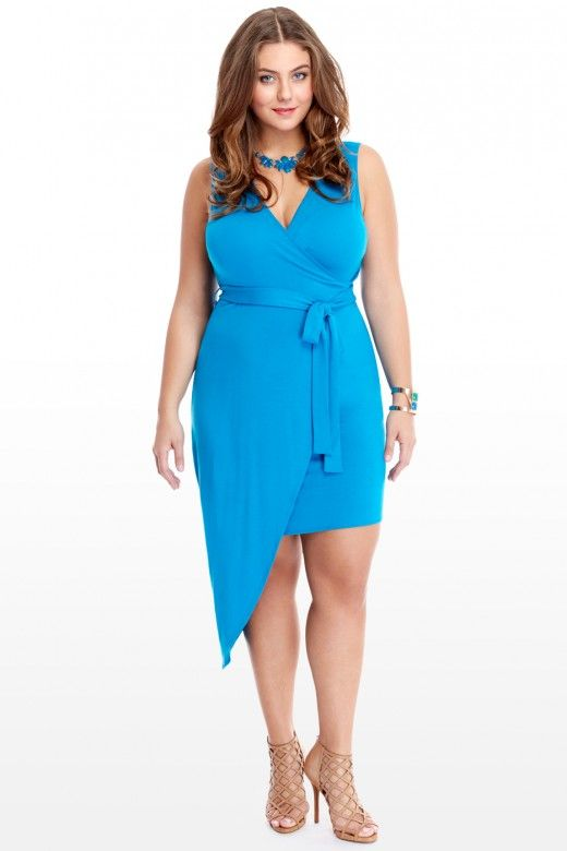 8cf74461064 Plus Size Marina Wrap Dress