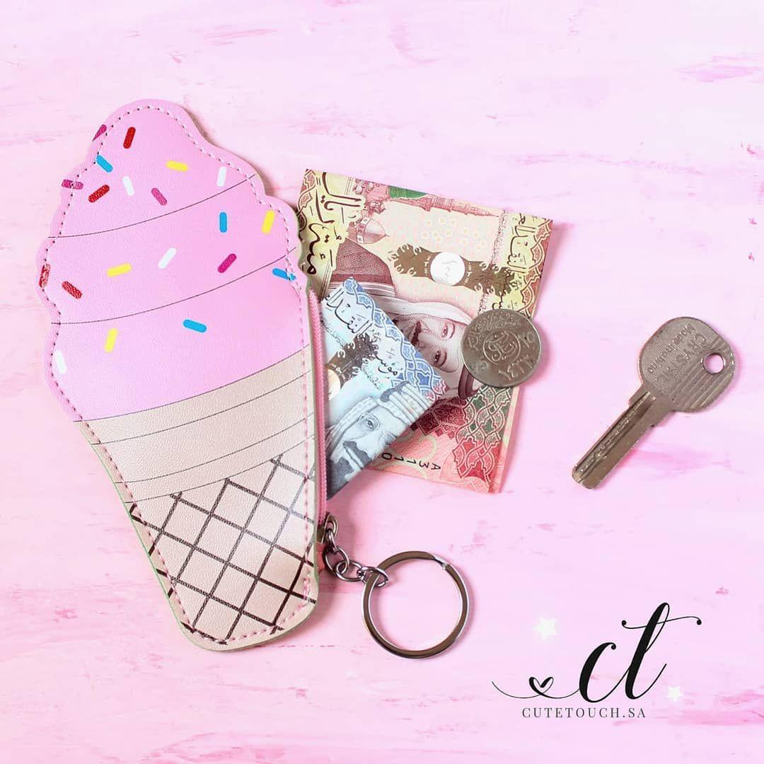Cute Wallet محفظة نقود Cute Pink Pink Cute