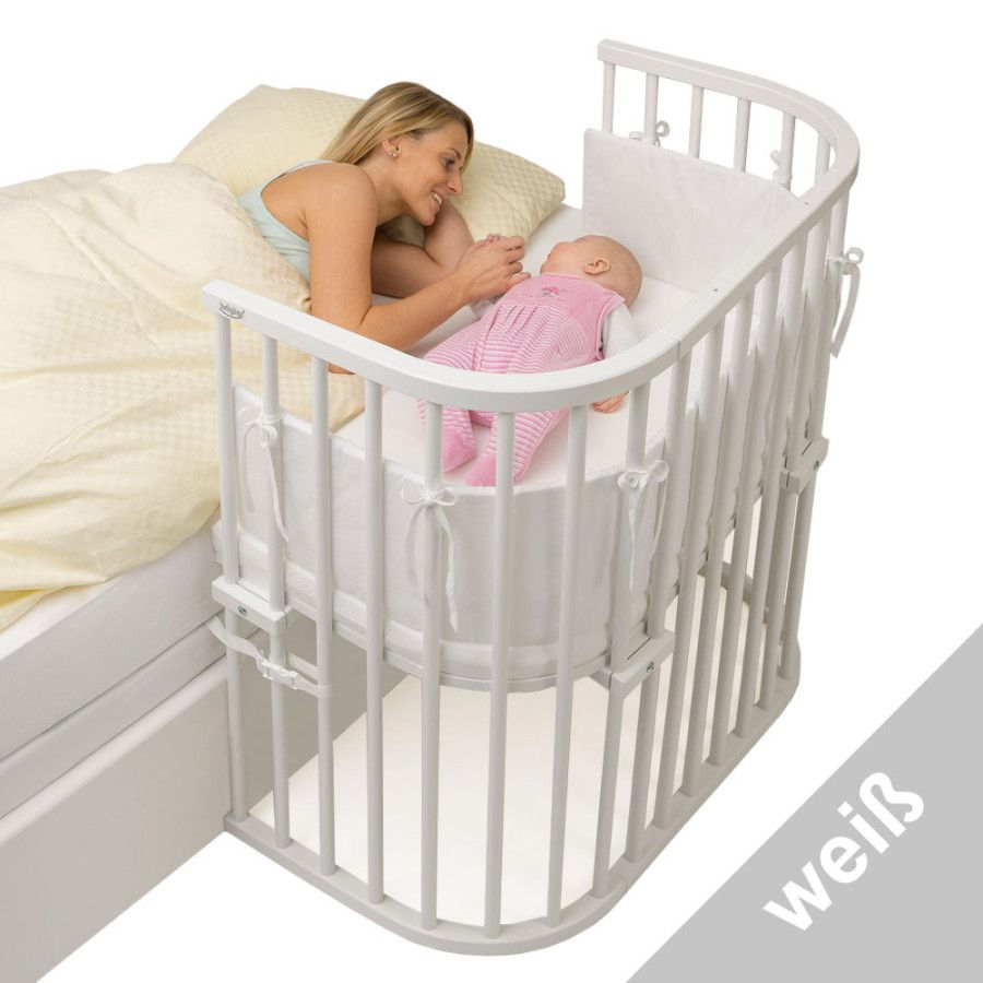 Babybay Box Spring Natural Bed In 2020 Bed How To Make Bed Side Bed