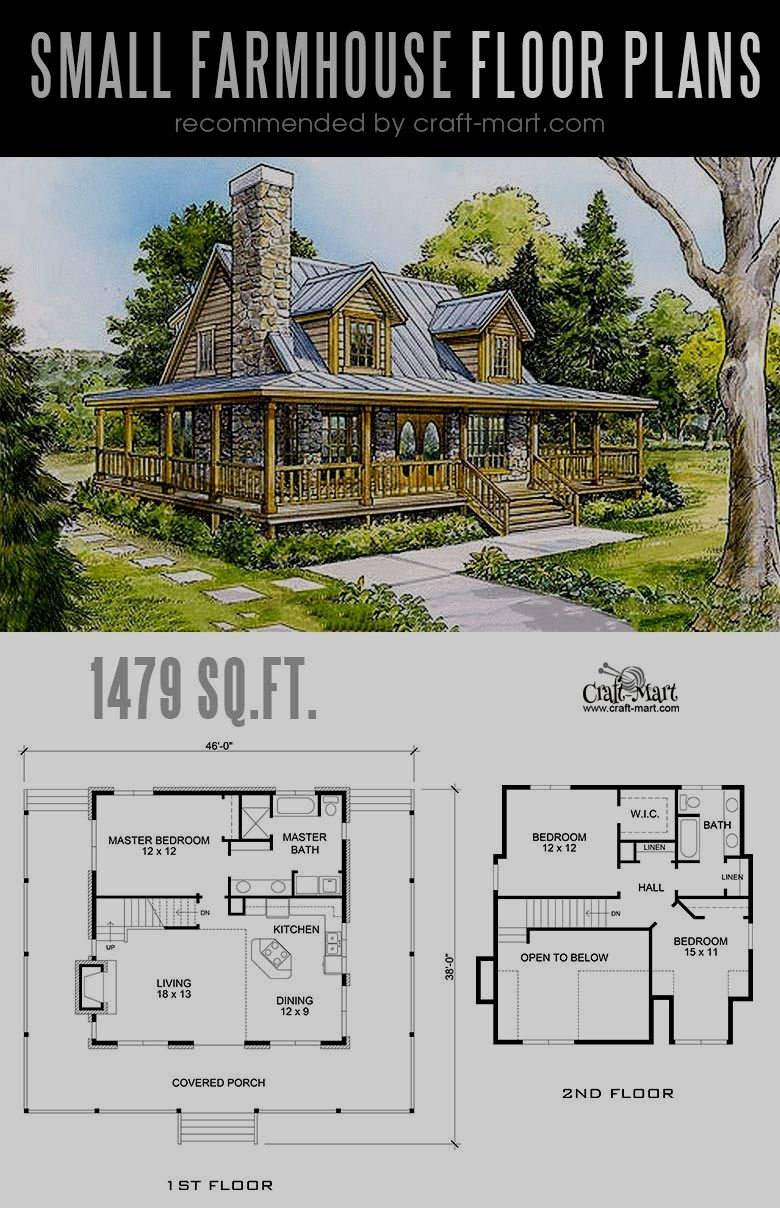 Pin By Odette Oppe On Cabin Homes In 2020 Small Farmhouse Plans