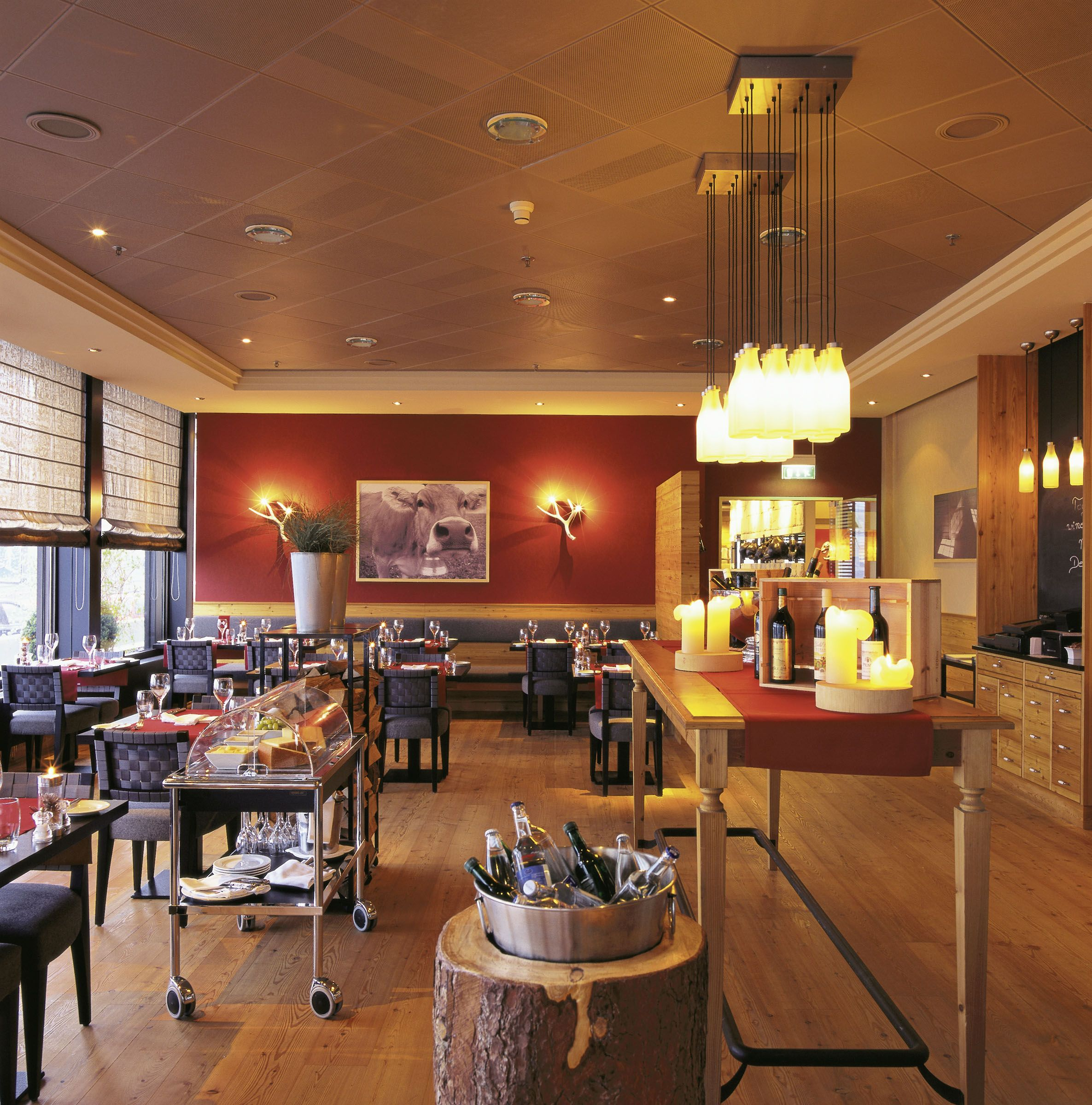 Zurich Marriott Hotel Swiss Restaurant In Zurich