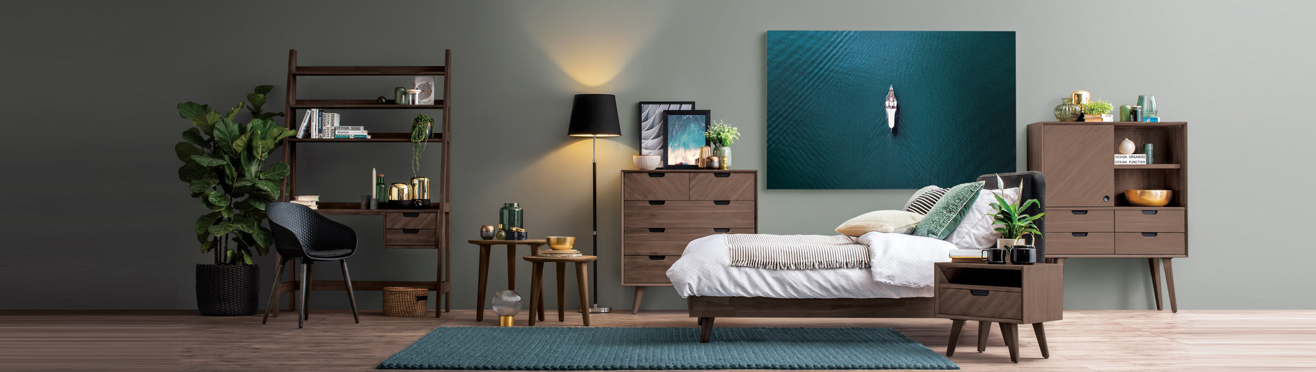 Warm Bed Room Inspiration In 2020 Furniture Scandinavian Style Furniture Scandinavian Style Bedroom