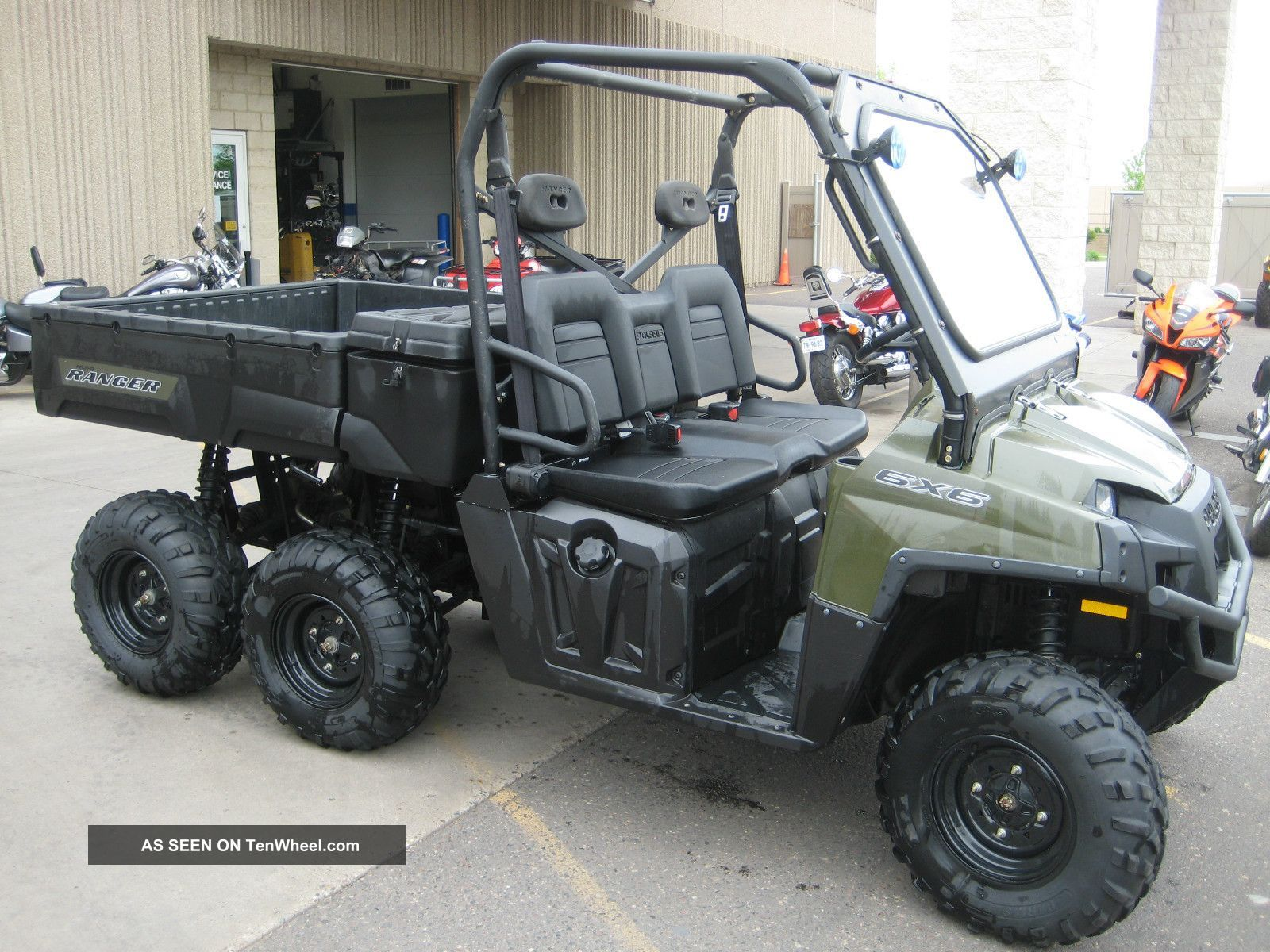 Pin by Jim Hopkins on Polaris Ranger 6X6 in 2020 | Polaris ranger ...