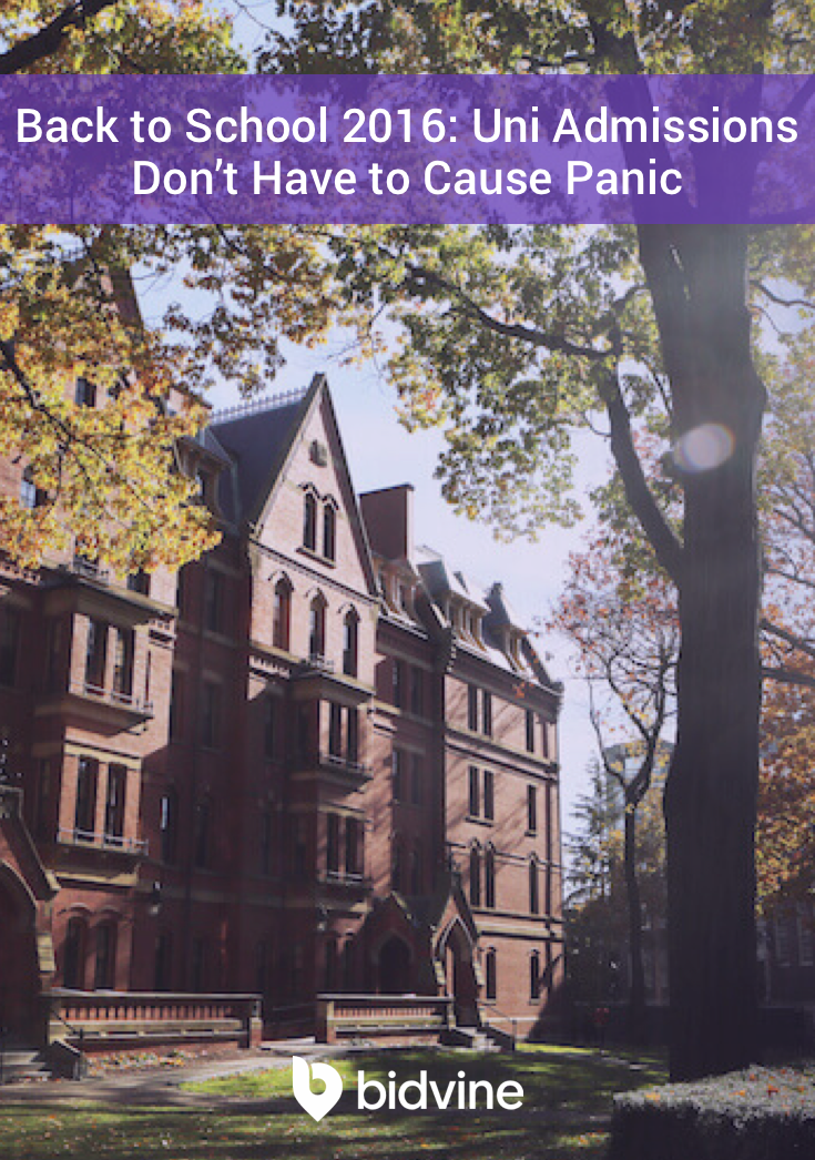 When it comes to uni admissions, it's easy to get stressed out and panic. But…