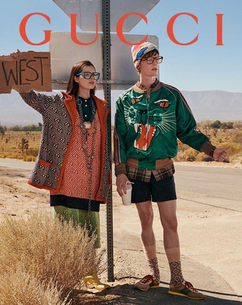 Gucci Spring Summer 2019 Eyewear Campaign (Gucci