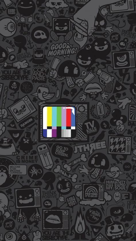Tv Kills Everything IPhone 5s Wallpaper