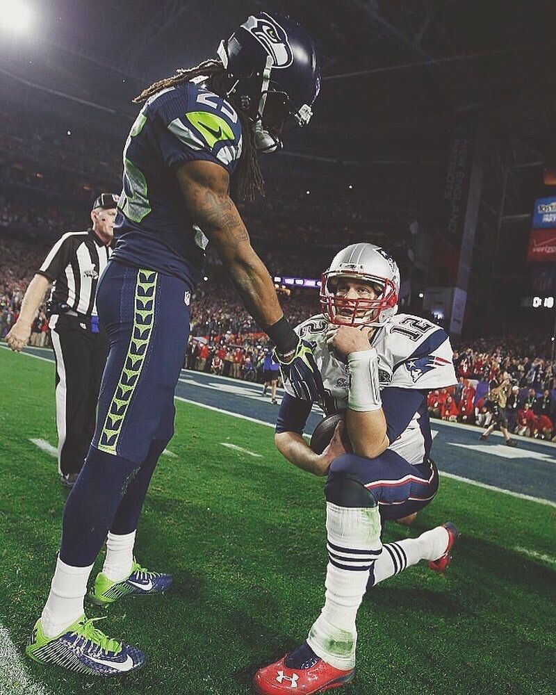 Pin By Gerry Gallagher On Nfl Seahawks Patriots Richard Sherman