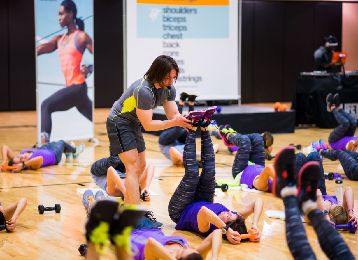 Life Time Fitness And Target To Launch Exclusive C9 Challenge Group Fitness Class Lifetime Fitness Fitness Class Group Fitness Classes