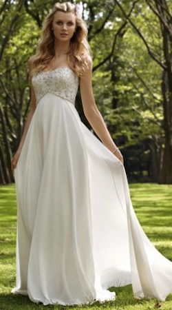 Etherial Romantic bridal gown