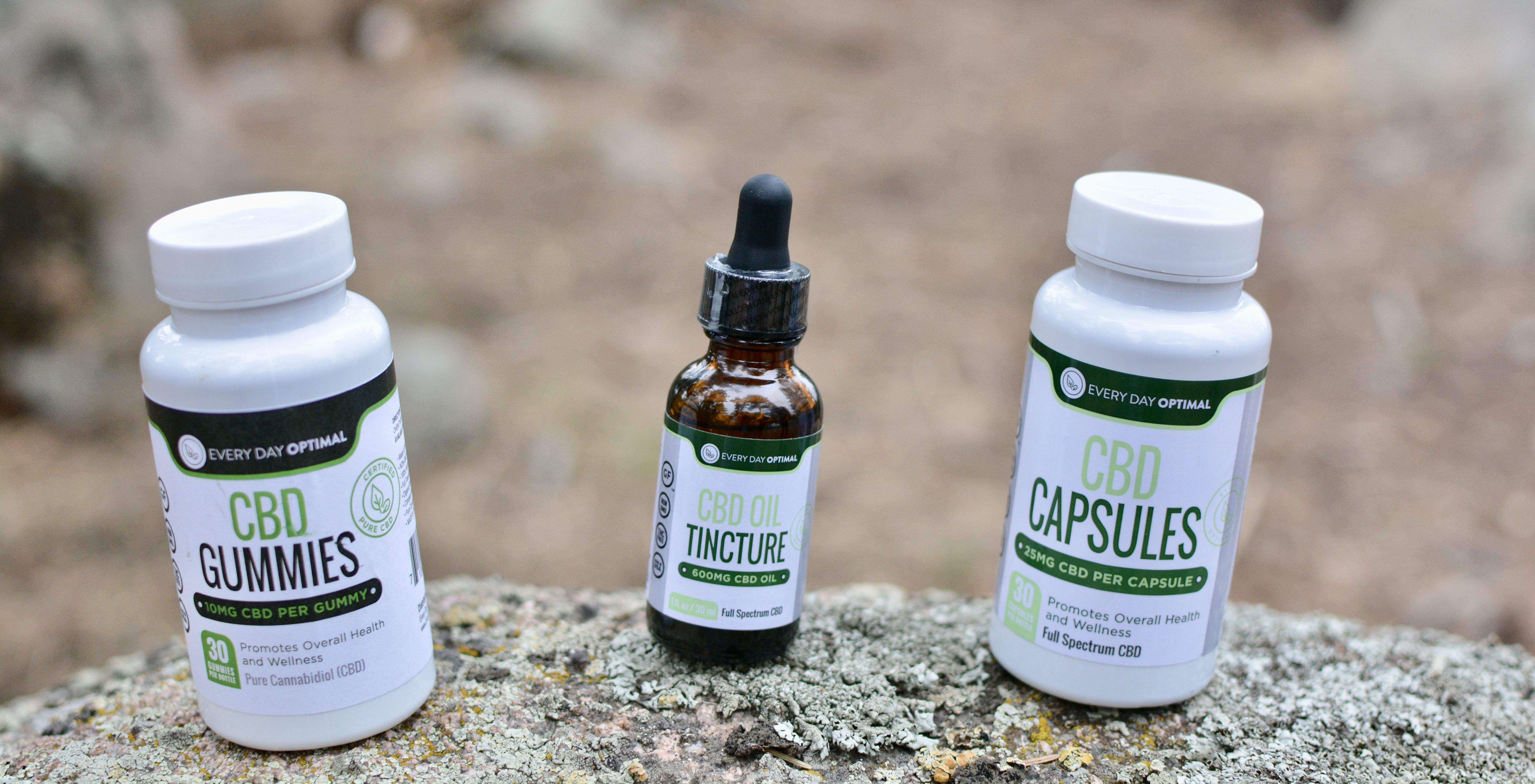 Everyday optimal cbd products for health wellness