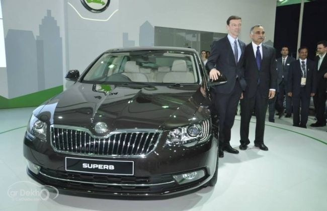 2014 Skoda Superb Facelift Launching Today Product Launch