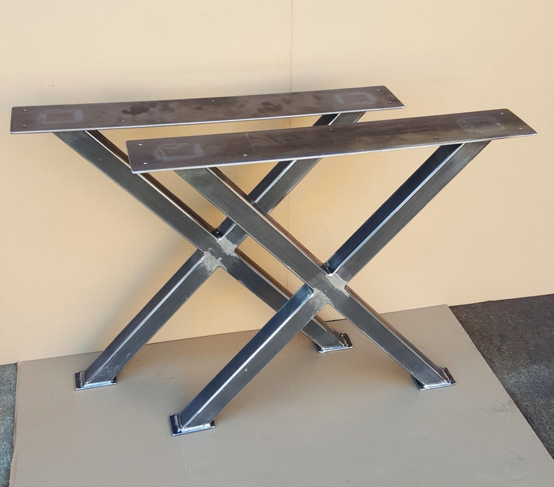 X Table Legs Model Tx02sc Heavy Duty Sturdy X Metal Legs  # Muebles Tumbing