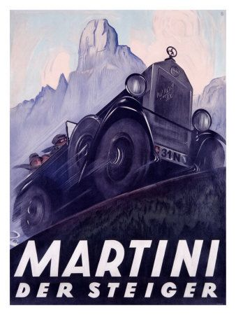 Martini, by Otto Baumberger (1889 - 1961).