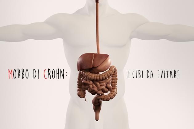 dieta alimentare per la malattia di crohn