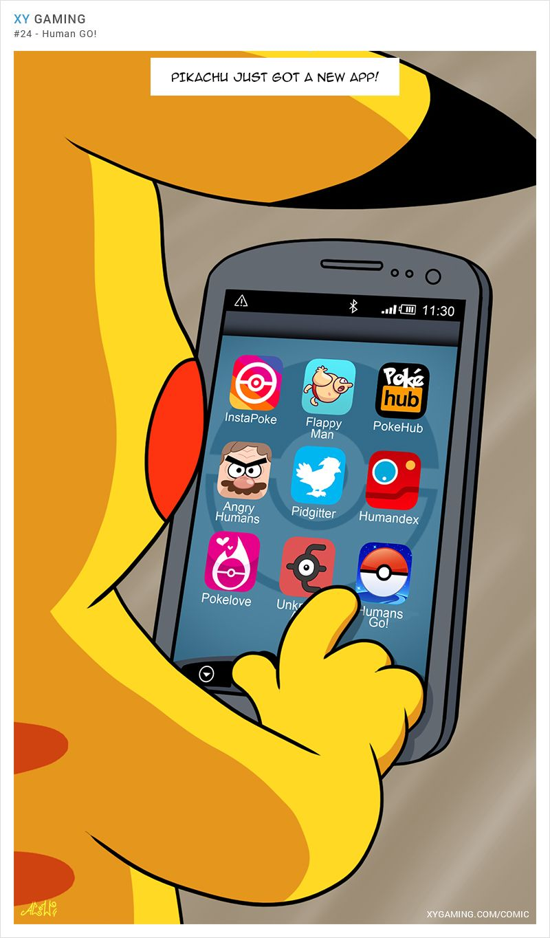 What Pikachu Does In His Free Time  Pokemon Go -4776