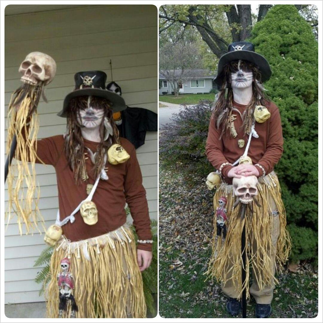 Halloween Costume-Voodoo Witch Doctor Costume | Halloween ...