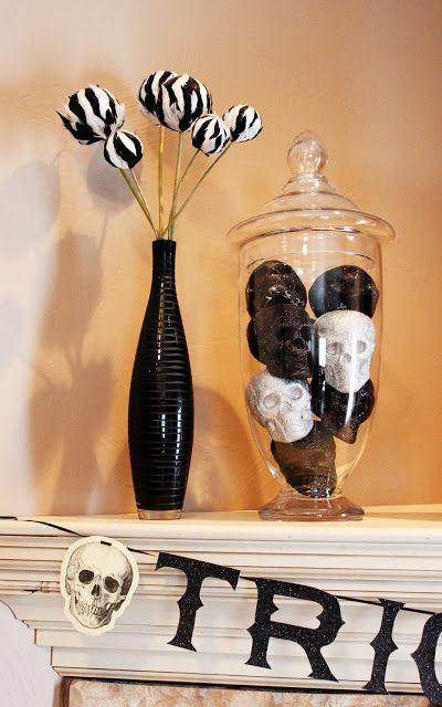 Kaleda Valentino-Barnett I think we should make the black and white - how to make decorations for halloween