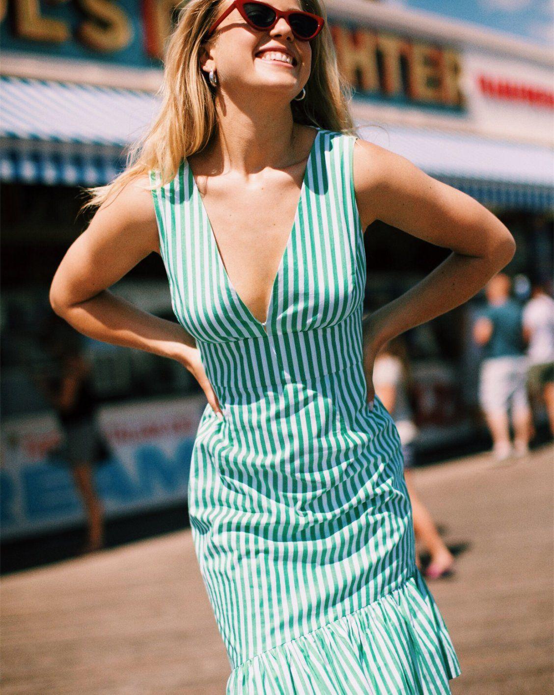 d12cbed2e9b0c Assateague Striped Dress in 2019 | Maxi & Midi Dresses | Dresses ...