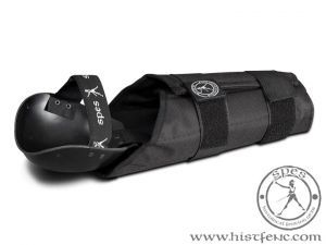 Arm protection for full contact stickfighting.