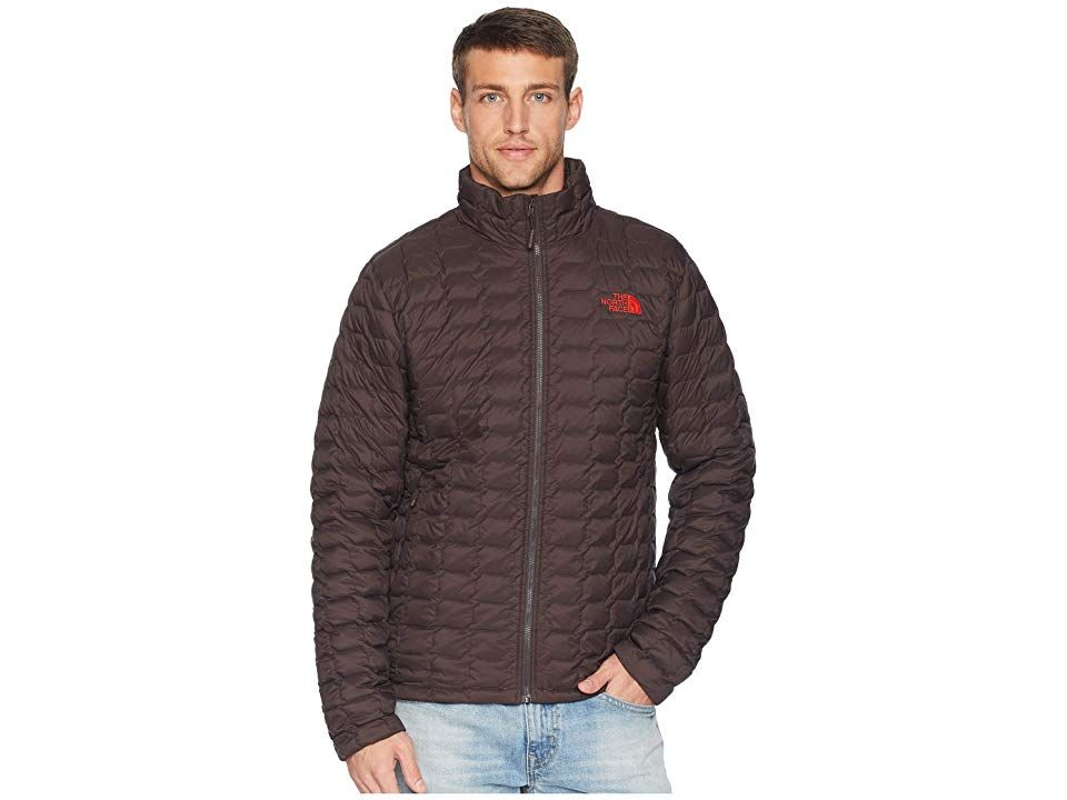 95529348fd8a The North Face ThermoBall Jacket (Bittersweet Brown Matte) Men s Coat. Make  your trip a breeze with this lightweight jacket that ll keep you warm in  wet ...
